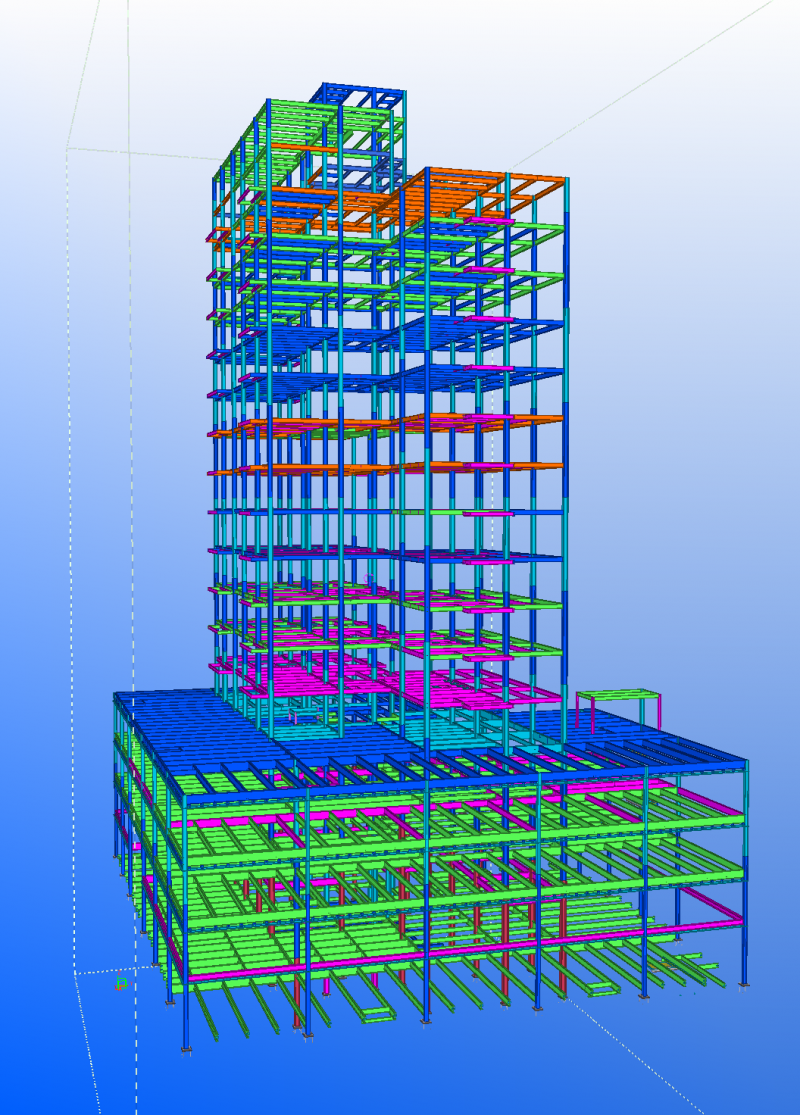 38 Delancey Street, New York, NY Provided Structural Steel Shop Drawings