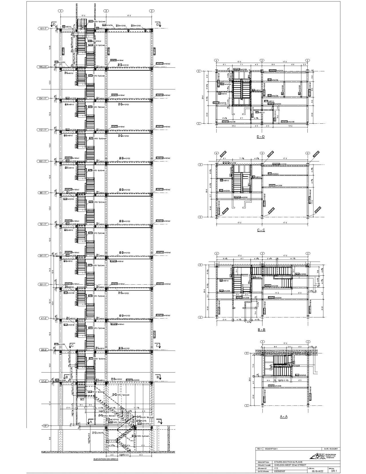 Uncategorized Staircase Detailing advanced detailing corp steel stairs shop drawings staircase detailing